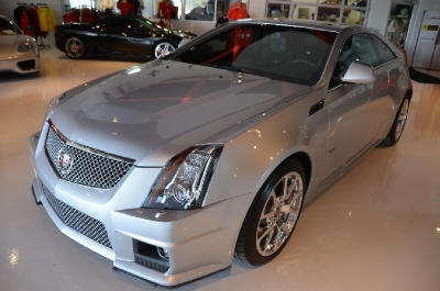 Used 2011 Cadillac CTS-V Coupe Used 2011 Cadillac CTS-V Coupe for sale Sold at Cauley Ferrari in West Bloomfield MI 3