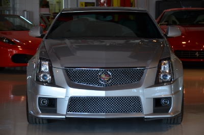Used 2011 Cadillac CTS-V Coupe Used 2011 Cadillac CTS-V Coupe for sale Sold at Cauley Ferrari in West Bloomfield MI 4