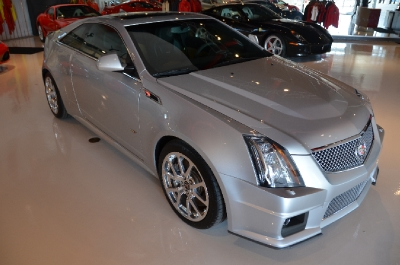 Used 2011 Cadillac CTS-V Coupe Used 2011 Cadillac CTS-V Coupe for sale Sold at Cauley Ferrari in West Bloomfield MI 5