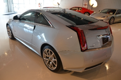 Used 2011 Cadillac CTS-V Coupe Used 2011 Cadillac CTS-V Coupe for sale Sold at Cauley Ferrari in West Bloomfield MI 9