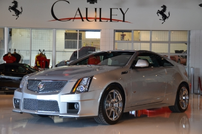 Used 2011 Cadillac CTS-V Coupe Used 2011 Cadillac CTS-V Coupe for sale Sold at Cauley Ferrari in West Bloomfield MI 1