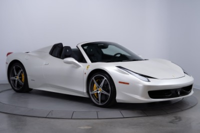 Used 2015 Ferrari 458 Spider Used 2015 Ferrari 458 Spider for sale Sold at Cauley Ferrari in West Bloomfield MI 4