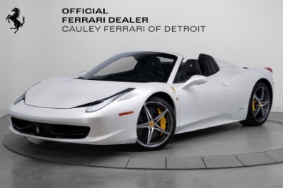 Used 2015 Ferrari 458 Spider Used 2015 Ferrari 458 Spider for sale Sold at Cauley Ferrari in West Bloomfield MI 1