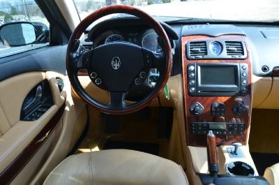 Used 2005 Maserati Quattroporte Used 2005 Maserati Quattroporte for sale Sold at Cauley Ferrari in West Bloomfield MI 25