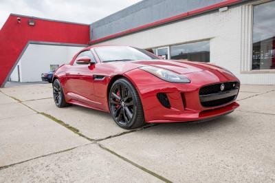 Used 2014 Jaguar F-TYPE V8 S Used 2014 Jaguar F-TYPE V8 S for sale Sold at Cauley Ferrari in West Bloomfield MI 12