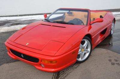 Used 1997 Ferrari 355 Spider Used 1997 Ferrari 355 Spider for sale Sold at Cauley Ferrari in West Bloomfield MI 35