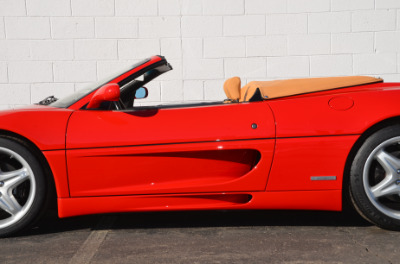 Used 1997 Ferrari 355 Spider Used 1997 Ferrari 355 Spider for sale Sold at Cauley Ferrari in West Bloomfield MI 39