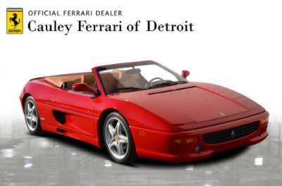 Used 1997 Ferrari 355 Spider Used 1997 Ferrari 355 Spider for sale Sold at Cauley Ferrari in West Bloomfield MI 4