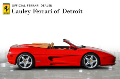 Used 1997 Ferrari 355 Spider Used 1997 Ferrari 355 Spider for sale Sold at Cauley Ferrari in West Bloomfield MI 5