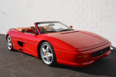 Used 1997 Ferrari 355 Spider Used 1997 Ferrari 355 Spider for sale Sold at Cauley Ferrari in West Bloomfield MI 50