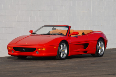 Used 1997 Ferrari 355 Spider Used 1997 Ferrari 355 Spider for sale Sold at Cauley Ferrari in West Bloomfield MI 52