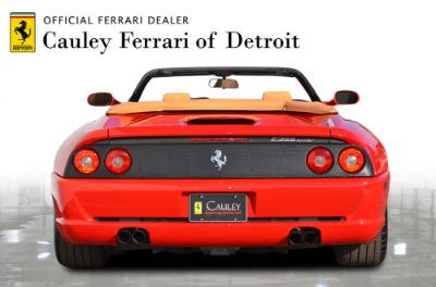 Used 1997 Ferrari 355 Spider Used 1997 Ferrari 355 Spider for sale Sold at Cauley Ferrari in West Bloomfield MI 7