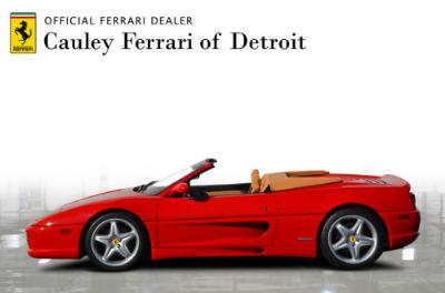 Used 1997 Ferrari 355 Spider Used 1997 Ferrari 355 Spider for sale Sold at Cauley Ferrari in West Bloomfield MI 9