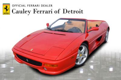 Used 1997 Ferrari 355 Spider Used 1997 Ferrari 355 Spider for sale Sold at Cauley Ferrari in West Bloomfield MI 1