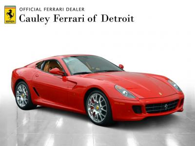 Used 2010 Ferrari 599 GTB Fiorano F1 Used 2010 Ferrari 599 GTB Fiorano F1 for sale Sold at Cauley Ferrari in West Bloomfield MI 4