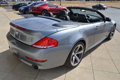 Used 2009 BMW 6 Series 650i Used 2009 BMW 6 Series 650i for sale Sold at Cauley Ferrari in West Bloomfield MI 6