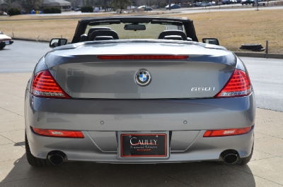 Used 2009 BMW 6 Series 650i Used 2009 BMW 6 Series 650i for sale Sold at Cauley Ferrari in West Bloomfield MI 7