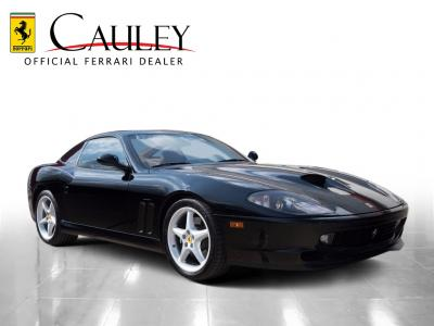 Used 1997 Ferrari 550 Maranello Used 1997 Ferrari 550 Maranello for sale Sold at Cauley Ferrari in West Bloomfield MI 4