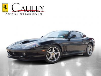 Used 1997 Ferrari 550 Maranello Used 1997 Ferrari 550 Maranello for sale Sold at Cauley Ferrari in West Bloomfield MI 1