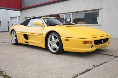 Used 1996 Ferrari 355 Spider Used 1996 Ferrari 355 Spider for sale Sold at Cauley Ferrari in West Bloomfield MI 12