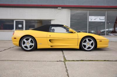 Used 1996 Ferrari 355 Spider Used 1996 Ferrari 355 Spider for sale Sold at Cauley Ferrari in West Bloomfield MI 13