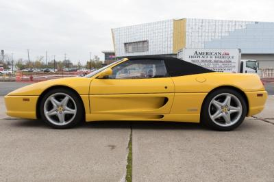 Used 1996 Ferrari 355 Spider Used 1996 Ferrari 355 Spider for sale Sold at Cauley Ferrari in West Bloomfield MI 17