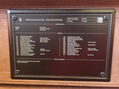 Used 2016 Ferrari F12berlinetta tdf Used 2016 Ferrari F12berlinetta tdf for sale $1,095,000 at Cauley Ferrari in West Bloomfield MI 77