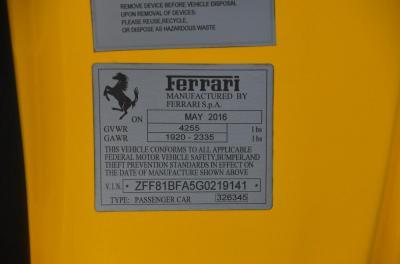 Used 2016 Ferrari F12berlinetta tdf Used 2016 Ferrari F12berlinetta tdf for sale $1,095,000 at Cauley Ferrari in West Bloomfield MI 79