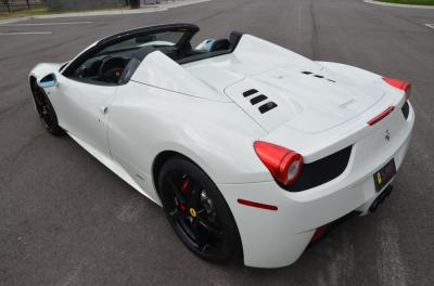 Used 2014 Ferrari 458 Spider Used 2014 Ferrari 458 Spider for sale Sold at Cauley Ferrari in West Bloomfield MI 25