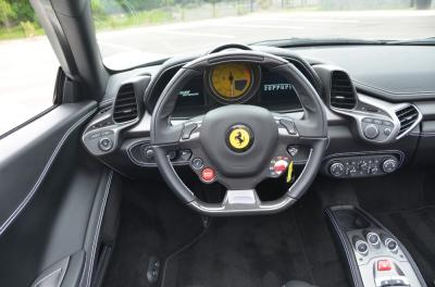 Used 2014 Ferrari 458 Spider Used 2014 Ferrari 458 Spider for sale Sold at Cauley Ferrari in West Bloomfield MI 31