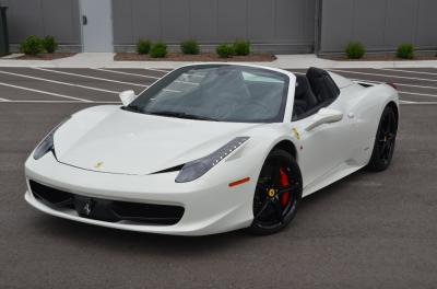 Used 2014 Ferrari 458 Spider Used 2014 Ferrari 458 Spider for sale Sold at Cauley Ferrari in West Bloomfield MI 45