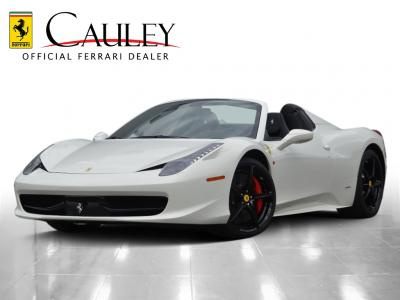 Used 2014 Ferrari 458 Spider Used 2014 Ferrari 458 Spider for sale Sold at Cauley Ferrari in West Bloomfield MI 1