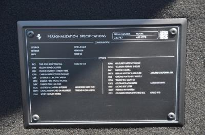New 2018 Ferrari 488 GTB New 2018 Ferrari 488 GTB for sale Sold at Cauley Ferrari in West Bloomfield MI 51