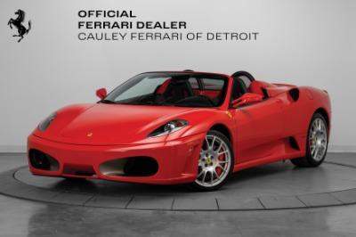 Used 2005 Ferrari F430 Spider Spider F1 Used 2005 Ferrari F430 Spider Spider F1 for sale $129,900 at Cauley Ferrari in West Bloomfield MI 1