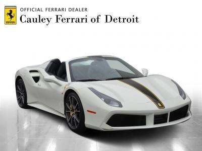 Used 2018 Ferrari 488 Spider Used 2018 Ferrari 488 Spider for sale Sold at Cauley Ferrari in West Bloomfield MI 4