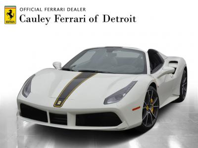 Used 2018 Ferrari 488 Spider Used 2018 Ferrari 488 Spider for sale Sold at Cauley Ferrari in West Bloomfield MI 1