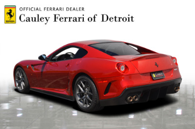 Used 2011 Ferrari 599 GTO Used 2011 Ferrari 599 GTO for sale $699,900 at Cauley Ferrari in West Bloomfield MI 7
