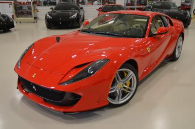 Used 2018 Ferrari 812 Superfast Used 2018 Ferrari 812 Superfast for sale Sold at Cauley Ferrari in West Bloomfield MI 12