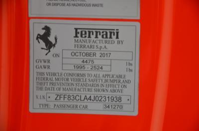 Used 2018 Ferrari 812 Superfast Used 2018 Ferrari 812 Superfast for sale Sold at Cauley Ferrari in West Bloomfield MI 64
