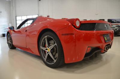 Used 2015 Ferrari 458 Spider Used 2015 Ferrari 458 Spider for sale Sold at Cauley Ferrari in West Bloomfield MI 18