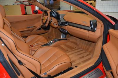 Used 2015 Ferrari 458 Spider Used 2015 Ferrari 458 Spider for sale Sold at Cauley Ferrari in West Bloomfield MI 35