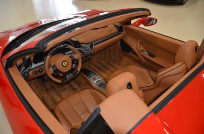 Used 2015 Ferrari 458 Spider Used 2015 Ferrari 458 Spider for sale Sold at Cauley Ferrari in West Bloomfield MI 41