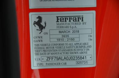 New 2018 Ferrari 488 GTB New 2018 Ferrari 488 GTB for sale $229,900 at Cauley Ferrari in West Bloomfield MI 78