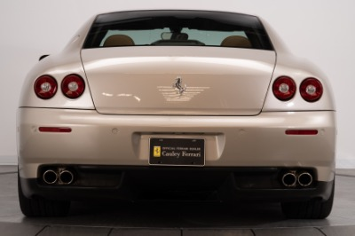 Used 2005 Ferrari 612 Scaglietti Used 2005 Ferrari 612 Scaglietti for sale $99,900 at Cauley Ferrari in West Bloomfield MI 7