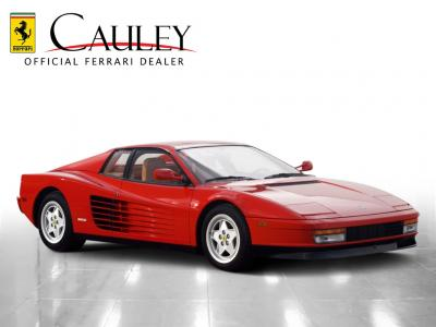 Used 1990 Ferrari Testarossa Used 1990 Ferrari Testarossa for sale Sold at Cauley Ferrari in West Bloomfield MI 4
