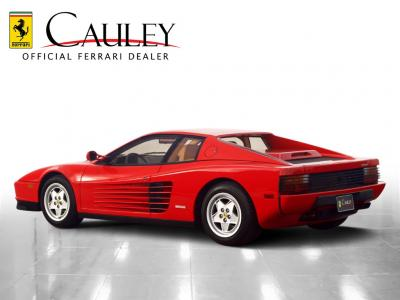 Used 1990 Ferrari Testarossa Used 1990 Ferrari Testarossa for sale Sold at Cauley Ferrari in West Bloomfield MI 8