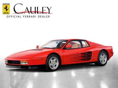 Used 1990 Ferrari Testarossa Used 1990 Ferrari Testarossa for sale Sold at Cauley Ferrari in West Bloomfield MI 9