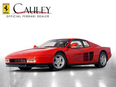 Used 1990 Ferrari Testarossa Used 1990 Ferrari Testarossa for sale Sold at Cauley Ferrari in West Bloomfield MI 1