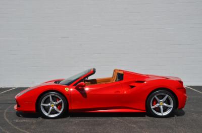 Used 2017 Ferrari 488 Spider Used 2017 Ferrari 488 Spider for sale Sold at Cauley Ferrari in West Bloomfield MI 9