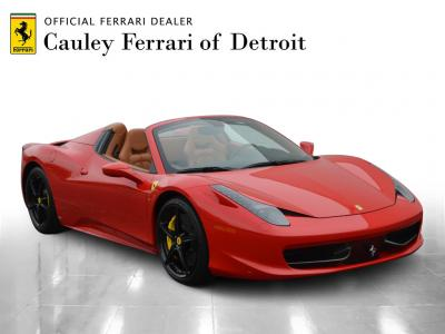 Used 2013 Ferrari 458 Spider Used 2013 Ferrari 458 Spider for sale Sold at Cauley Ferrari in West Bloomfield MI 4
